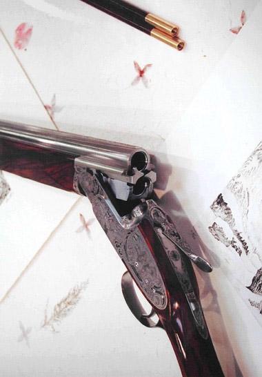 При запирании блока вертикалки Bosis Michelangelo две боковые  задвижки опираются на вертикальные крюки по бокам нижнего ствола
