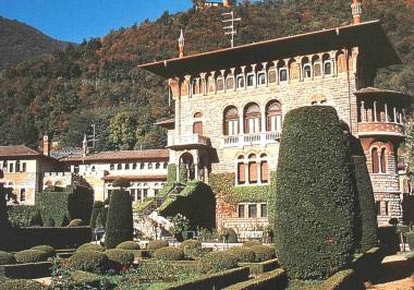 Старинный корпус фирмы Fabricca D'Armi Pietro Beretta s.p.a. в городке Гардоне-валь-Тромпья