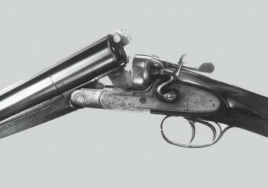 Спортивная курковая двустволка Beretta с блоком стволов 10-го калибра – призер 1932 года
