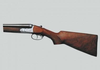 Охотничье ружье Beretta 626E с блоком горизонтально соединенных стволов и замками в колодке