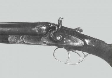 Охотничье курковое ружье Beretta Italia первой трети XX века