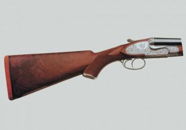 Штуцер-горизонталка Beretta 455 EELL с подкладными замками на боковых пластинах и усиленной колодкой