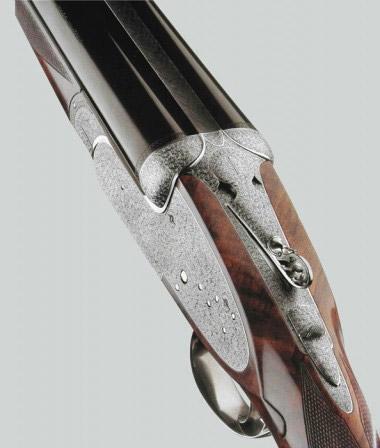 Подкладной замок на боковой пластине для вертикалки Beretta SO10