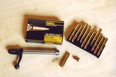Наряду с оружием у фирмы Sako oy есть и свои патроны, например 9,3x62