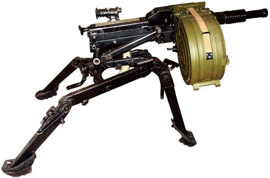 30-мм автоматический гранатомет АГС-17 на станке Барышева-Степанова 6Т8