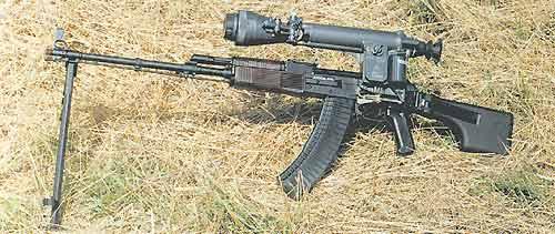 5,45-мм модернизированный ручной пулемёт Калашникова РПК74М