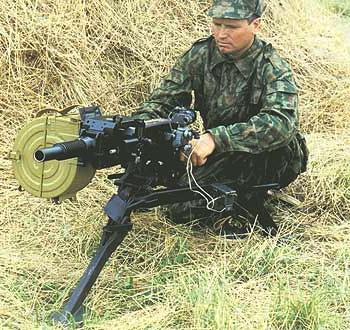 30-мм автоматический станковый гранатомёт АГС-17 «Пламя»