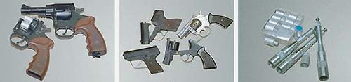 Гладкоствольный служебный револьвер ДОГ-1
