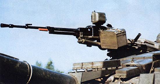 12,7-мм крупнокалиберный танковый пулемет НСВТ-12,7