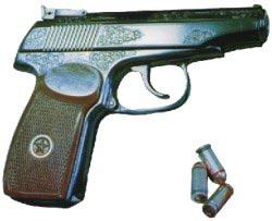 9-мм пистолет для спортивно-тренировочной стрельбы Иж-70