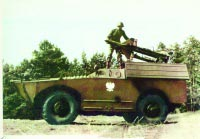 Боевая машина 2П27 — на шасси БРДМ-1 с ПТУРами 3М6 «Шмель»