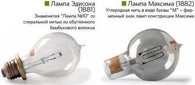 Лампа Эдисона и Максима