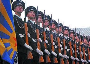 Карабины СКС - оружие роты почетного караула