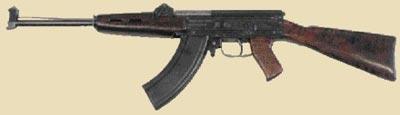 7,62-мм автомат Коробова ТКБ-454. Опытный образец 1952 г.