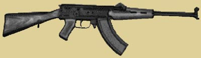 7,62-мм автомат Коробова TKБ-517. Опытный образец 1957 г.