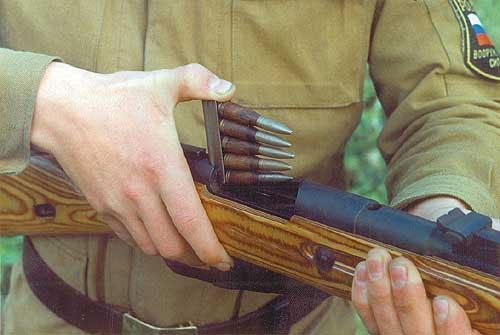 Отечественные учебные патроны к винтовке Мосина