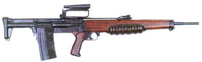 7-мм английская опытная штурмовая винтовка ЕМ 2