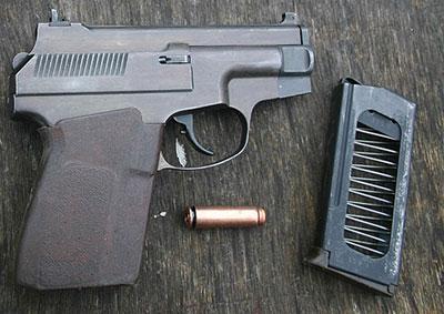 7,62-мм пистолет специальный самозарядный ПСС со специальным патроном СП. 4 и 6-зарядным магазином