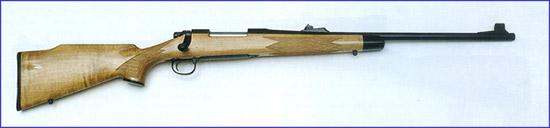 Популярный вариант: Почти все современные магазинные винтовки  имеют варианты под патрон .30-06 Springfield. На фотоснимке показана  специальная модель Remington 700.