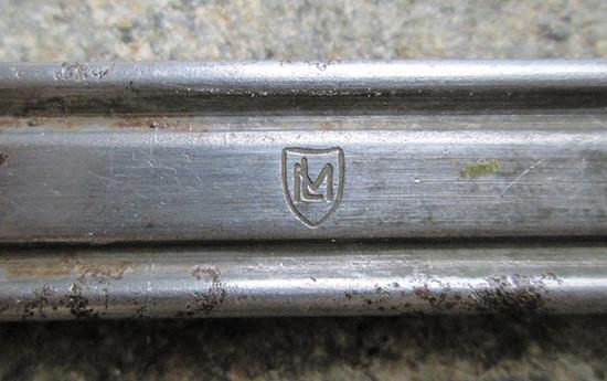 Клеймо обоймы венгерского производства для пистолета Steyr M.12. 1930-е годы