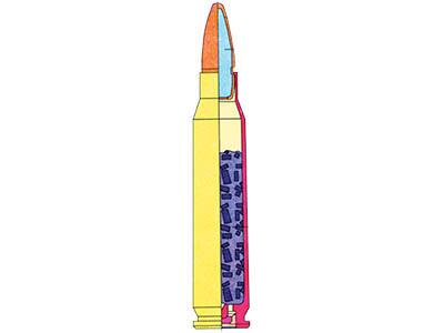 Разрез 5,56х45 винтовочного патрона М 193