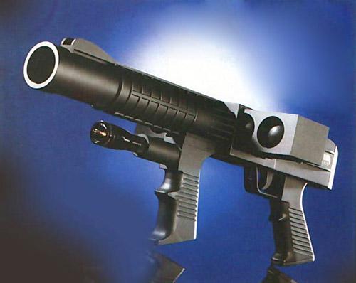 37-мм гранатомет MR 35 PUNCH фирмы Manurhin для стрельбы резиновыми шариками