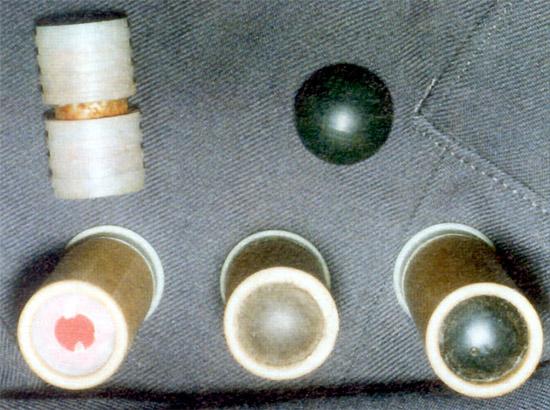 Патрон с контейнером, содержащим  химическое вещество раздражающего действия: патрон «Волна-Р» для  ракетницы; патрон «Волна-Р» для карабина КС-23 с пулей
