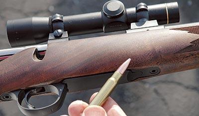 Затворная группа винтовки 84М идеально подходит для патронов, основанных на 308-ой гильзе, как .338 Federal. Ни грамма лишнего металла.