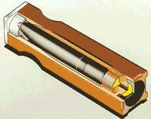 4.7-мм. безгильзовый патрон 4.7DE11 (вариант В)