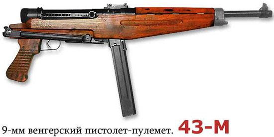 9-мм венгерский пистолет-пулемет 43-М