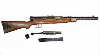 9-мм итальянский пистолет-пулемет «Beretta» М938А