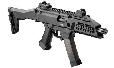 9-мм пистолет-пулемет CZ Scorpion EVO 3A1 (вид справа)