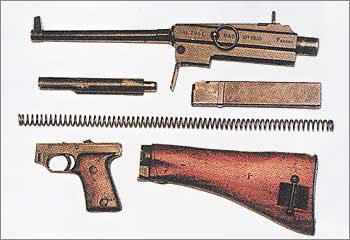 7,65-мм пистолет-пулемет образца 1938 г. MAS-38