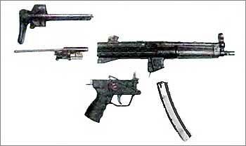 Немецкий 9-мм пистолет-пулемет МР-5