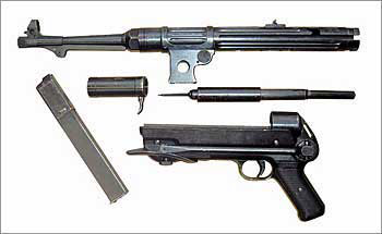 9-мм немецкой пистолет-пулемет МР.38
