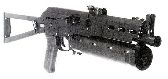 Пистолет-пулемет «Бизон» по своим массо-габаритным характеристикам приблизился к автомату АКС-74У