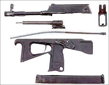 9-мм пистолет-пулемет ПП-2000 (серийный)