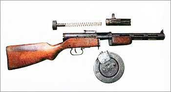 7,62-мм пистолет-пулемет ППД обр. 1940 г