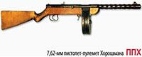 7,62-мм пистолет-пулемет Хорошмана ППХ