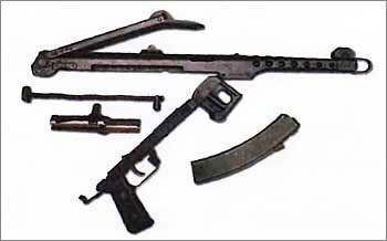 7,62-мм пистолет-пулемет обр. 1943 г. Судаева ППС-43