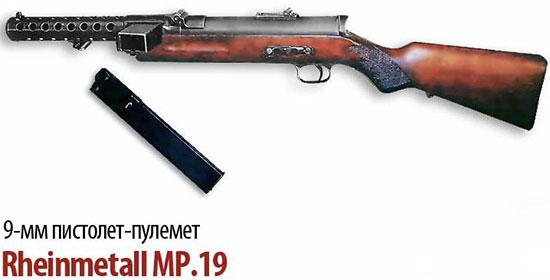 9-мм пистолет-пулемет «Rheinmetall» МР.19