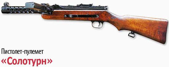 Пистолет-пулемет «Солотурн»