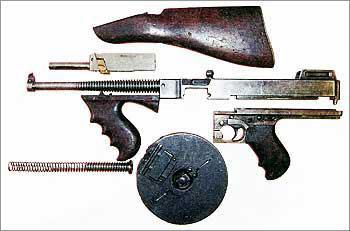 Пистолет-пулемет Томпсон (Thompson) обр. 1921 г