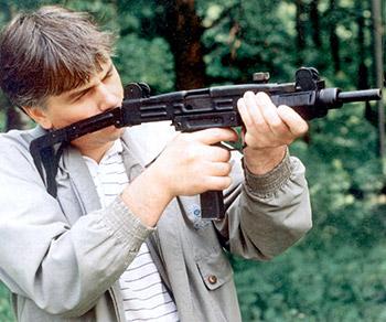 Пистолет-пулемет UZI