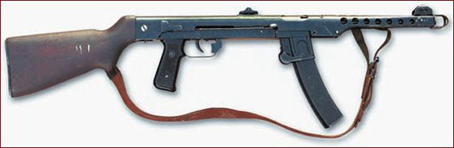 Польский вариант ППС – М/43-52 с постоянным прикладом