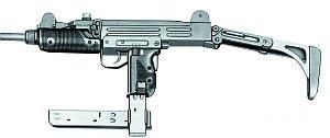Пистолет-пулемет UZI с дополнительным магазином