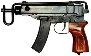 9-мм пистолет-пулемет vz.61 «Скорпион» (Чехословакия)