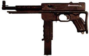 9-мм пистолет-пулемет МАТ 49 (Франция)