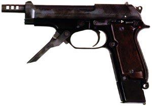 9-мм автоматический пистолет «Беретта» М.93R (Италия)
