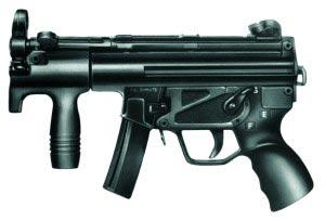9-мм пистолет-пулемет HK MP5K